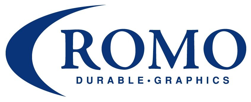 Romo Durable Graphics Logo