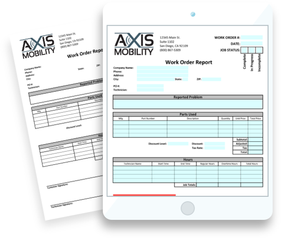 Easily turn your paper forms into digital forms.