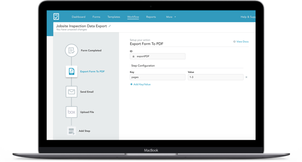 Form invoice shared with teammates - automate HIPAA secure mobile forms workflows and processing to streamline daily tasks and collaboration