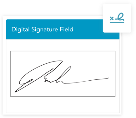 Collect digital signatures with HIPAA secure mobile forms