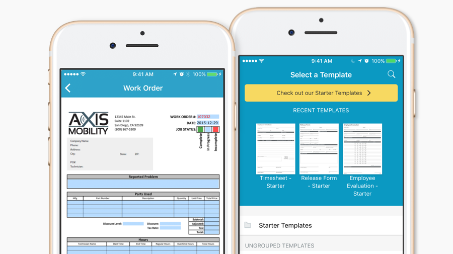Use GoFormz to create mobile forms for iPhone
