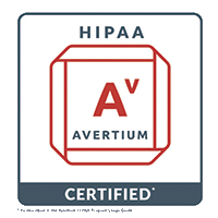Sword & Shield badge certifying that GoFormz mobile forms are HIPAA compliant